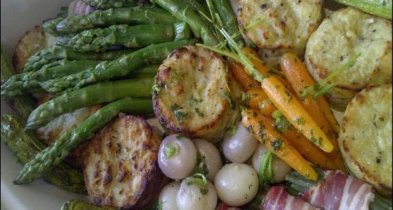 Accompagnement légumes frais
