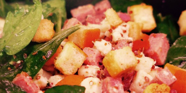 salade de jambon