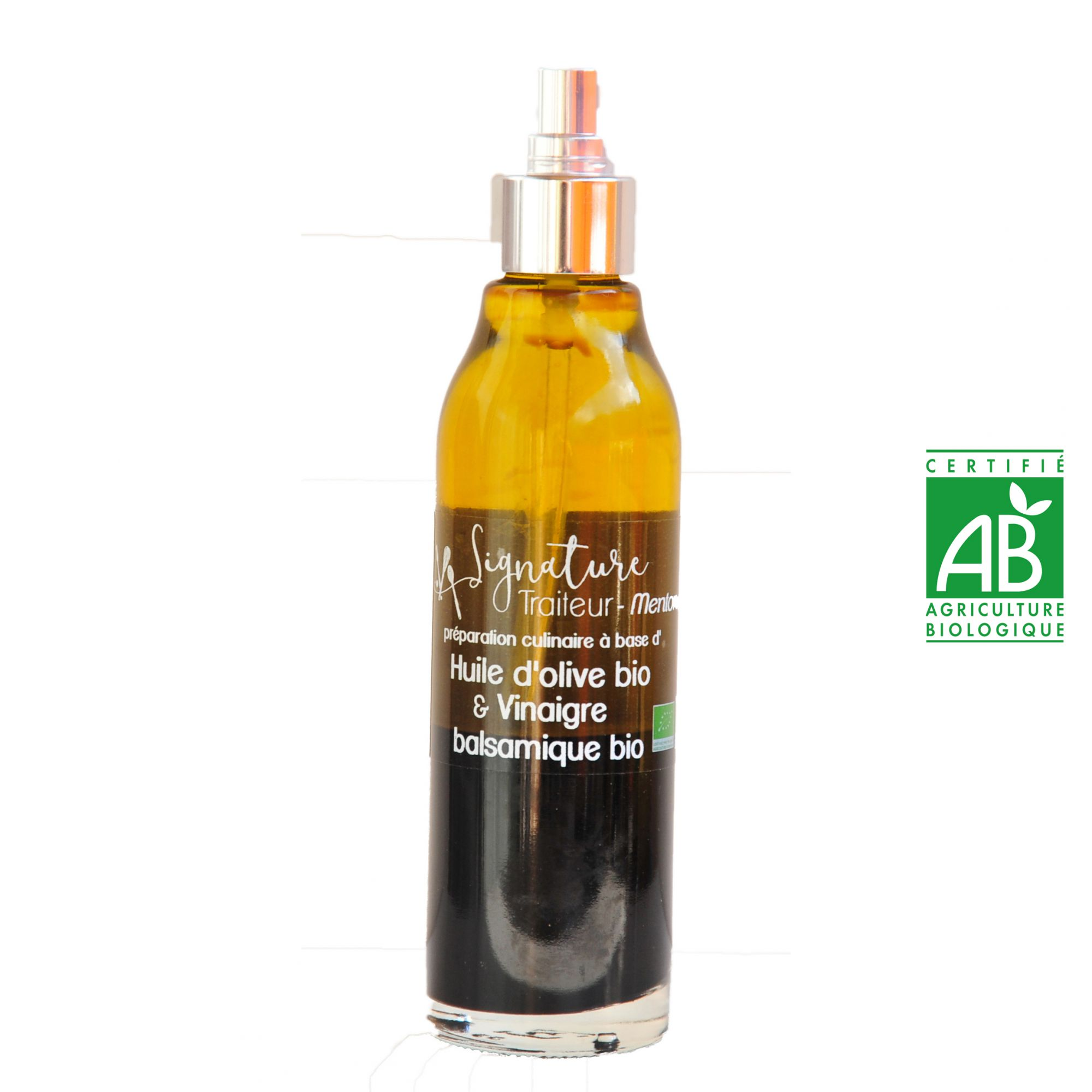 Huile d'olive bio et Vinaigre balsamique BIO
