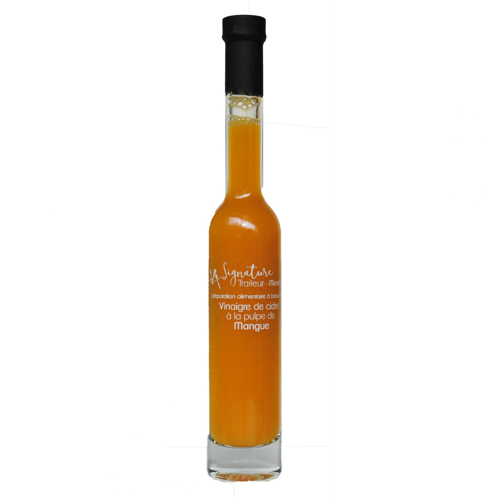 Vinaigre de cidre à la pulpe de Mangue