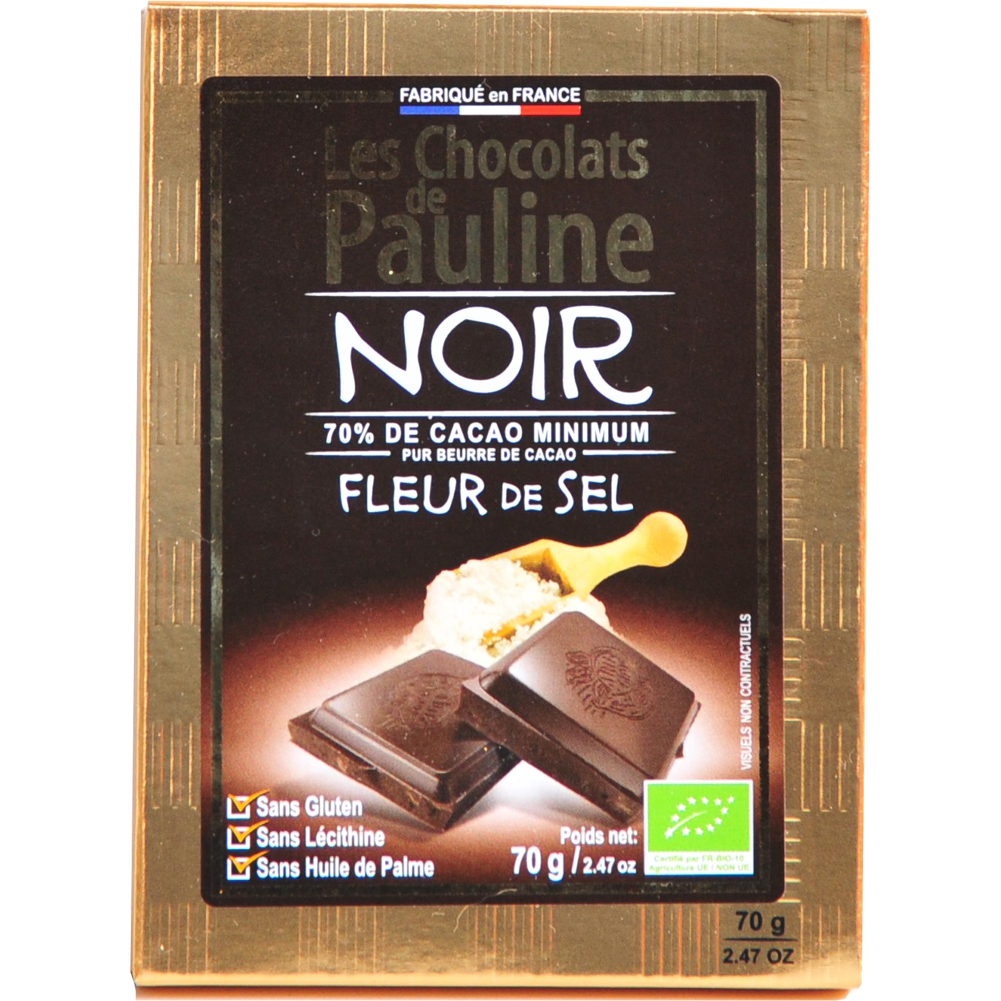 chocolat Noir fleur de sel bio