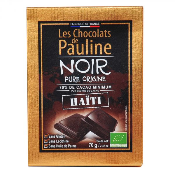 chocolat noir haiti bio