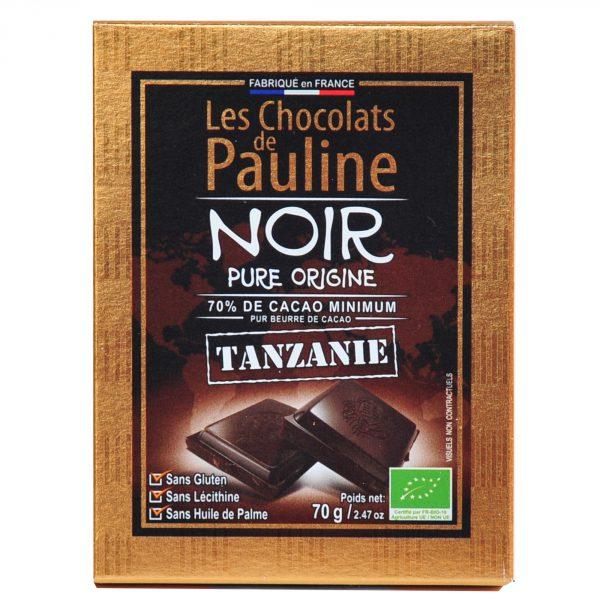 chocolat noir tansanie bio